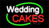 Wedding Cakes Neon Sign