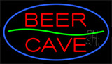 Beer Cave Animated Neon Sign