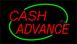 Cash Advance Animated Neon Sign
