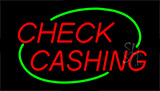 Check Cashing Animated Neon Sign
