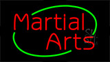 Martial Arts Animated Neon Sign