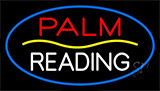 Palm Reading Yellow Line Neon Sign