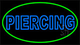 Double Stroke Piercing Neon Sign