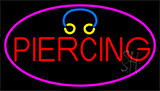 Red Piercing Neon Sign