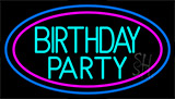 Birthday Party Neon Sign