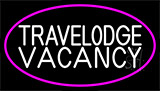 Custom Travelodge Vacancy Neon Sign