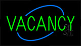 Green Vacancy Neon Sign
