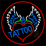Piercing Tattoo Addiction Logo Neon Sign