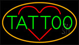 Tattoo Heart Neon Sign