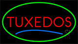 Tuxedos Blue Line Neon Sign