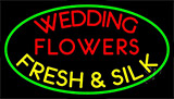 Wedding Flowers Neon Sign
