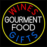 Wines Food Blue Gifts Neon Sign