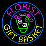 Florist Gifts Baskets Logo Neon Sign