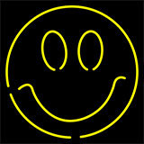 Smile Face Neon Sign