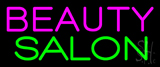 Pink Beauty Salon Green Neon Sign