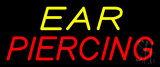 Yellow Red Ear Piercing Neon Sign