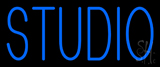 Blue Studio Neon Sign