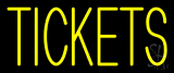 Yellow Tickets Neon Sign