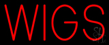 Red Wigs Neon Sign