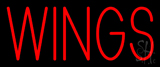 Red Wings Neon Sign