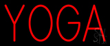 Red Yoga Neon Sign
