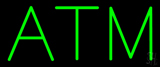 Green Atm Neon Sign
