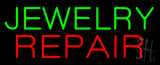 Jewelry Repair Block Neon Sign