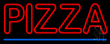Double Stroke Pizza Neon Sign