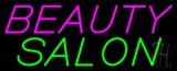 Slanting Beauty Salon Neon Sign