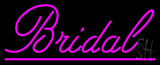 Bridal Cursive Purple Line Neon Sign