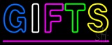 Gifts Pink Line Neon Sign