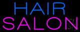 Block Blue Pink Hair Salon Neon Sign