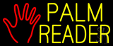 Palm Reader Logo Neon Sign
