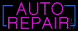 Pink Auto Repair Neon Sign
