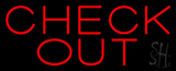Block Red Neon Sign