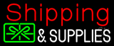 Shipping And Supplies With Logo Neon Sign