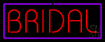 Bridal Purple Border Neon Sign