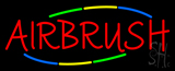 Deco Style Multi Colored Airbrush Neon Sign