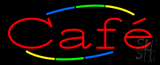 Multi Colored Deco Style Cafe Neon Sign