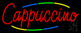 Deco Style Red Cappuccino Neon Sign