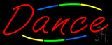 Deco Style Multi Colored Dance Neon Sign