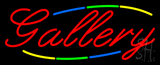 Multicolored Deco Style Gallery Neon Sign