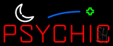 Red Psychic Block Logo Neon Sign