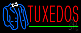 Tuxedos Logo Green Line Neon Sign
