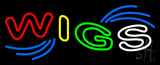 Multi Colored Wigs Neon Sign
