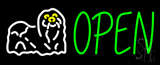 Grooming Open Neon Sign