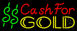 Cash For Gold Neon Sign
