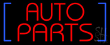 Red Auto Parts Neon Sign