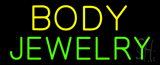 Body Jewelry Block Neon Sign