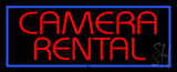 Camera Rental Neon Sign